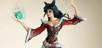 Riot tung ra mô hình Ahri cực chi tiết để game thủ thưởng thức