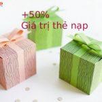 Khuyến mãi 50% thẻ nạp với Thách thức tuần Mobifone 9 – 16/12