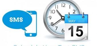 Ứng dụng hẹn giờ nhắn tin SMS cực chất cho điện thoại