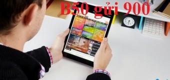 Cách đăng ký gói B50 Vinaphone miễn phí gọi, nhắn tin và data 3G