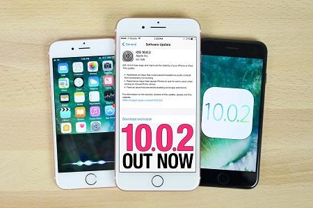 Có nên nâng cấp lên iOS 10.0.2 không?