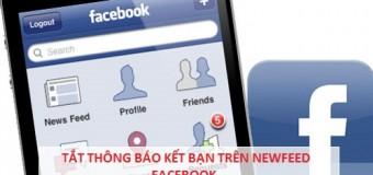 Cách tắt thông báo kết bạn trên Facebook đơn giản