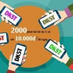 Đăng ký DT5T Viettel thoải mái gọi điện với 2.000 phút nội mạng