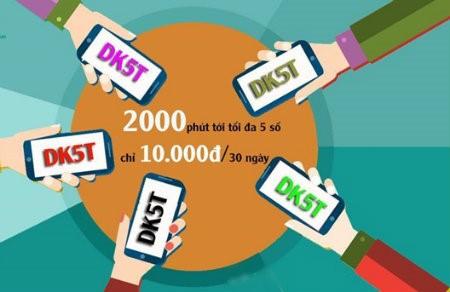 Đăng ký gói DT5T Viettel thoải mái gọi điện
