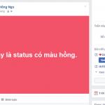 Cách viết status nhiều màu đa dạng trên Facebook