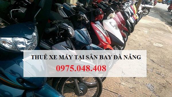 Thuê xe máy tại sân bay Đà Nẵng