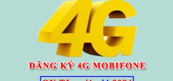 Đăng ký gói cước 4G Mobifone giá rẻ tốc độ cao