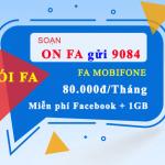 Đăng ký FA Mobifone lướt Facebook cực đã miễn phí