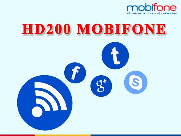 Gói cước HD200 Mobifone