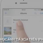 Làm thế nào để khôi phục hình ảnh đã xóa trên Iphone 6?
