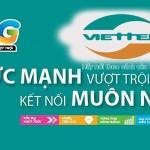 Cách đăng ký các gói cước 3G/4G Viettel 2018 nhiều ưu đãi