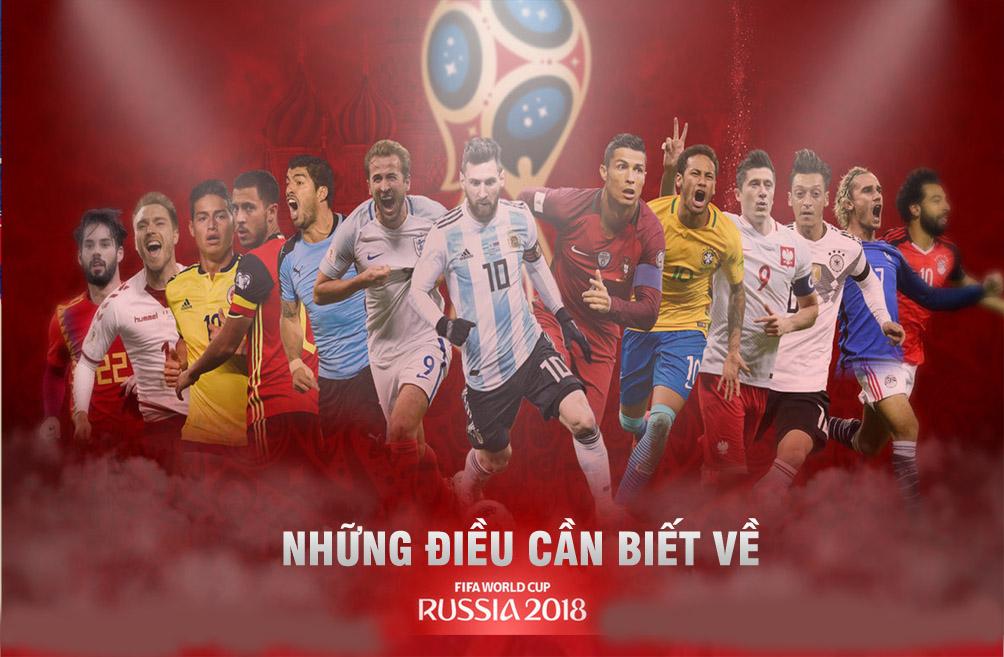 15+ Điều có thể bạn chưa biết về World Cup 2018 trên đất Nga