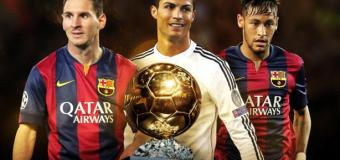 Neymar, Messi, Ronaldo: Bạn chọn ai?