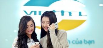Bổ sung dung lượng khủng 900MB – 2,5GB cho 3G Viettel trọn gói