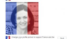 Thay đổi avatar facebook quốc kỳ Pháp