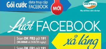 Lướt Facebook thả ga không sợ tốn kém.