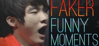 """Những khoảnh khắc """"ngu người"""" của Faker"""