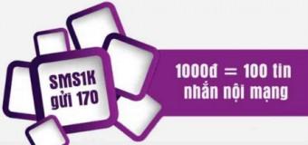 Nhận 100 tin nhắn Viettel chỉ 1.000đ với gói SMS1K