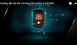 Thẻ Fifa Online 3 cộng 4