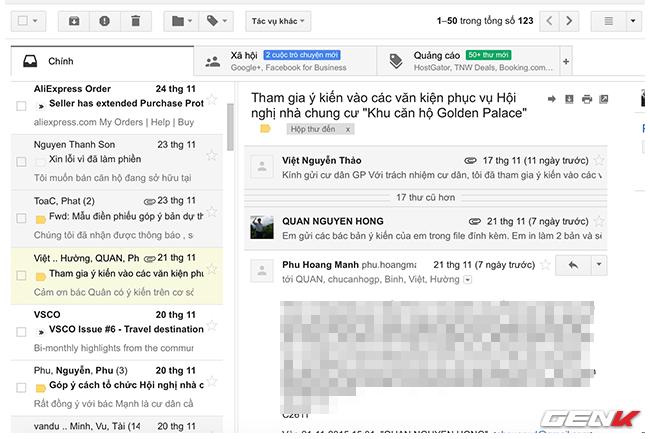 Tính năng cần biết của Gmail
