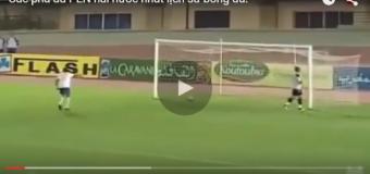 Video: Những pha đá PEN cực hài trong bóng đá!