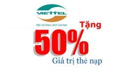 khuyến mãi Viettel