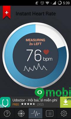 Đo nhịp tim bằng Camera