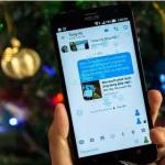 Cách tạo tuyết rơi trên Facebook Messenger cho Android – iOS
