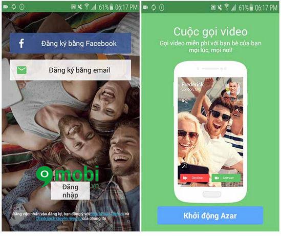 Ứng dụng chat video cho điện thoại