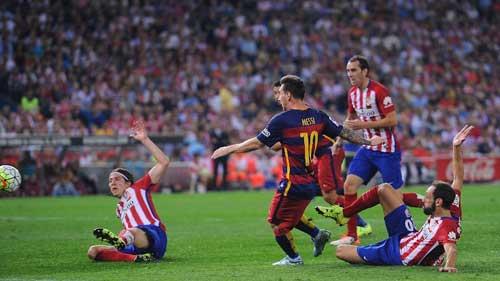 Barca-Atletico tứ kết lượt đi