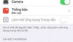 Sửa lỗi không tải được ảnh từ iPhone lên Facebook