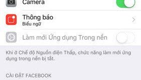 Hướng dẫn sửa lỗi không tải được ảnh từ iPhone lên Facebook