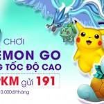 Chơi Pokemon Go với 100% 3G tốc độ cao của Viettel