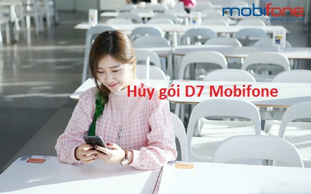 hủy gói D7 Mobifone