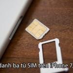 Cách đồng bộ danh bạ từ sim sang iPhone 7