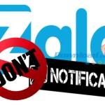 Hướng dẫn cách tắt thông báo trên Zalo nhanh nhất