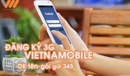 Cách đăng ký 3G Vietnamobile