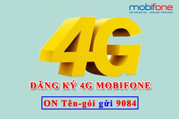 Đăng ký 4G Mobifone 2017
