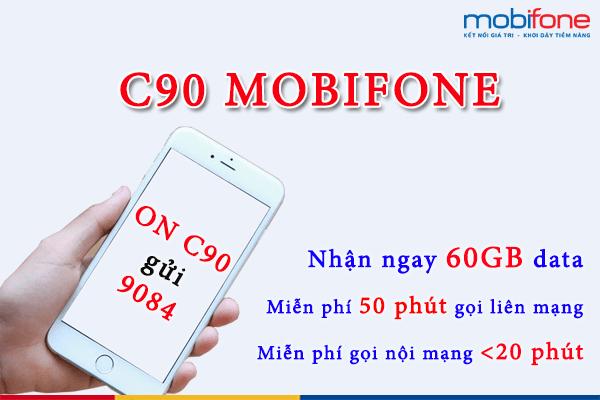 Đăng ký gói C90 Mobifone như thế nào
