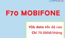 Gói F70 Mobifone