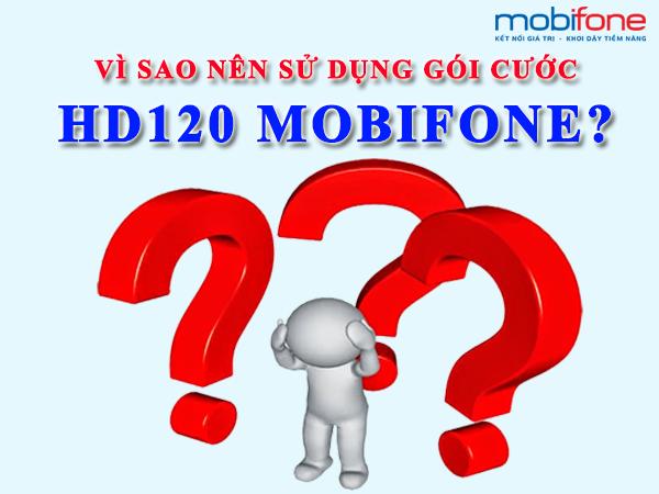 Gói cước HD120 Mobifone