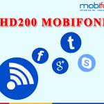 Đăng ký gói HD200 Mobifone nhận 11GB data 2018