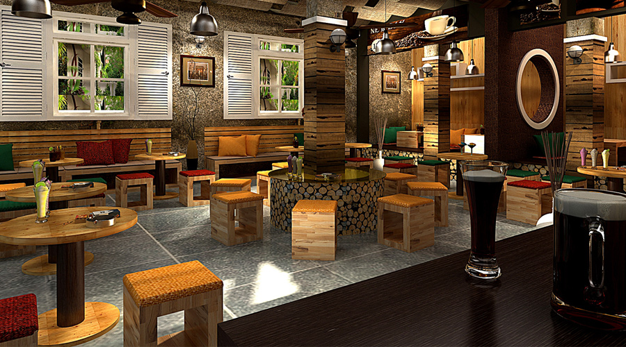 Thiết kế quán cà phê đẹp tại TPHCM