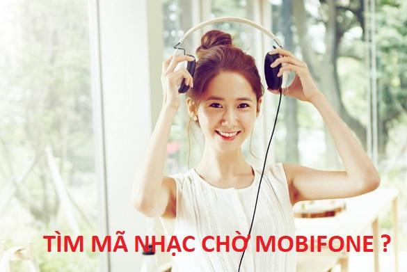 Cách tìm mã nhạc chờ Mobifone