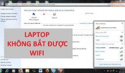 Lỗi laptop không vào được Wifi