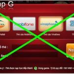 Nhà mạng bất ngờ ngừng nạp tiền game Online bằng thẻ điện thoại