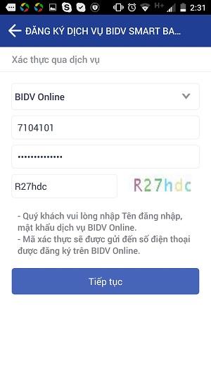 BIDV SmartBanking4
