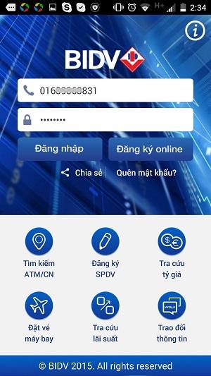 BIDV SmartBanking8
