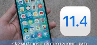Hướng dẫn cập nhật iOS 11.4 cho iPhone, iPad bằng iTunes và OTA