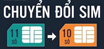 Cách chuyển số điện thoại 11 số thành 10 số trong danh bạ hàng loạt